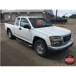 2007 GMC Canyon SLE 2WD (Ext Cab) (Odm Shows: 143,066kms)