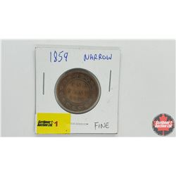Canada Large Cent: 1859