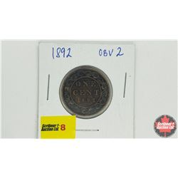 Canada Large Cent: 1892