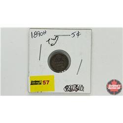 Canada Five Cent: 1890H