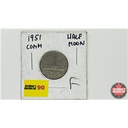 Canada Five Cent 1951 (Half Moon)