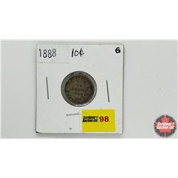 Canada Ten Cent: 1888