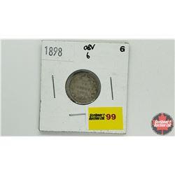 Canada Ten Cent: 1898 Obv6