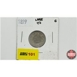 Canada Ten Cent: 1899 (lg 9's)