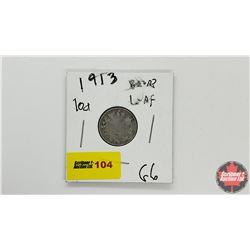 Canada Ten Cent: 1913 Broad Leaf