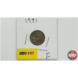 Canada Ten Cent: 1931