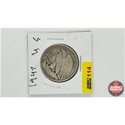 US Half Dollar: 1947