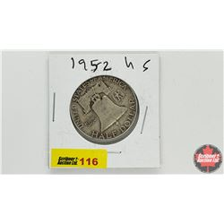 US Half Dollar: 1952