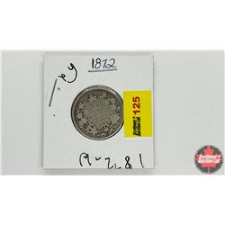 Canada Twenty Five Cent: 1872H