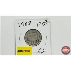 Canada Twenty Five Cent: 1903