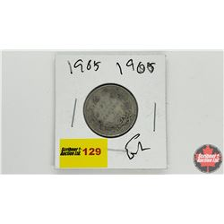 Canada Twenty Five Cent: 1905