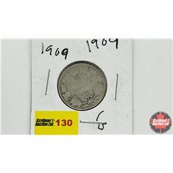 Canada Twenty Five Cent: 1909