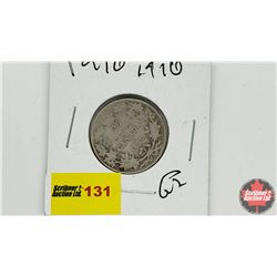 Canada Twenty Five Cent: 1910