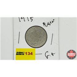 Canada Twenty Five Cent: 1915