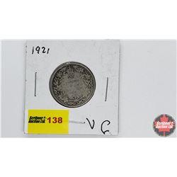 Canada Twenty Five Cent: 1921