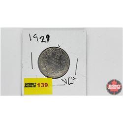 Canada Twenty Five Cent: 1929