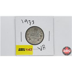 Canada Twenty Five Cent: 1933