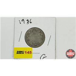 Canada Twenty Five Cent: 1945