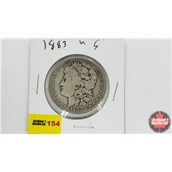 US Morgan Dollar: 1883