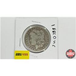 US Morgan Dollar: 1886O
