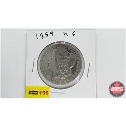 US Morgan Dollar: 1889
