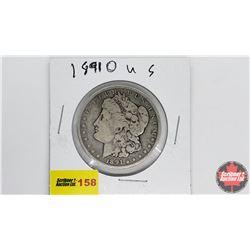US Morgan Dollar: 1891O