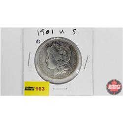 US Morgan Dollar: 1901O
