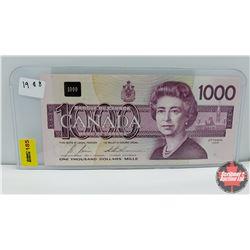 Canada $1000 Bill 1988 S/N#EKA5872553