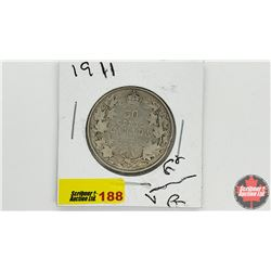 Canada Fifty Cent: 1911
