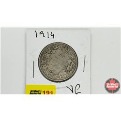 Canada Fifty Cent: 1914