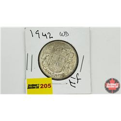 Canada Fifty Cent: 1942WD