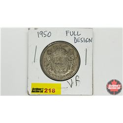 Canada Fifty Cent: 1950 Full Des