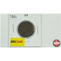 Nova Scotia One Cent 1864