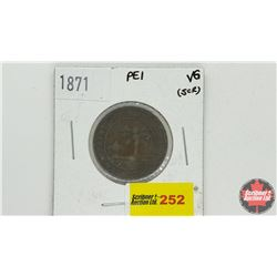 Prince Edward Island One Cent 1871