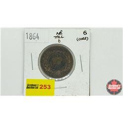 New Brunswick One Cent 1864 (Tall 6)