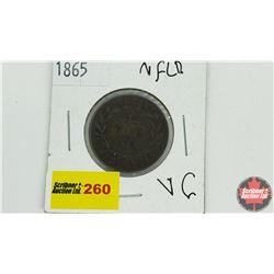 Newfoundland One Cent: 1865