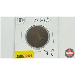Newfoundland One Cent: 1876