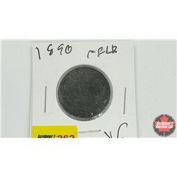 Newfoundland One Cent: 1890