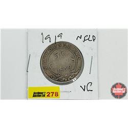 Newfoundland Fifty Cent: 1919