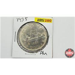 Canada Silver Dollar: 1935