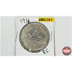 Canada Silver Dollar: 1936