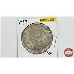 Canada Silver Dollar: 1937