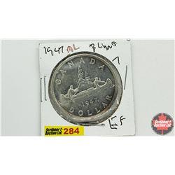 Canada Silver Dollar: 1947ML