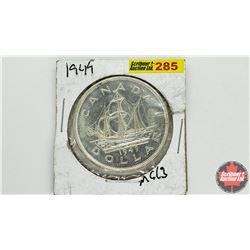 Canada Silver Dollar: 1949