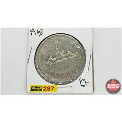 Canada Silver Dollar: 1953