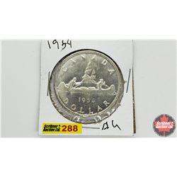 Canada Silver Dollar: 1954