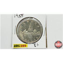 Canada Silver Dollar: 1955