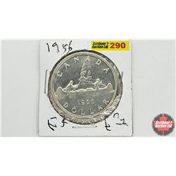 Canada Silver Dollar: 1956