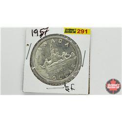 Canada Silver Dollar: 1957