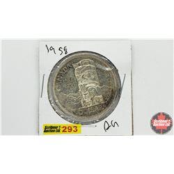 Canada Silver Dollar: 1958